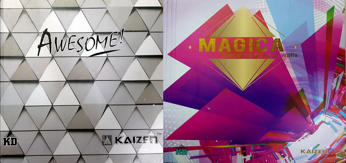 Kaizen surfaces importers, distributors of wall papers and wallcoverings commercial hub of india, Mumbai,